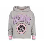 Vingino Hooded sweater nironne melee grijs