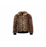 Little Looxs Winterjas fake fur animal beige