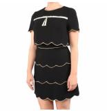 Elisabetta Franchi Moves Womens dress zwart