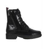 PS Poelman Veter boots lpleaf/17b snake zwart