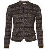Geisha Coat 95602-20 zwart