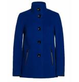 Milo Coat wol janna blauw