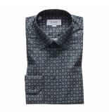 Eton 1000000 52 overhemd print groen