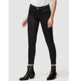 FRAME Jeansbroek le high skinny coated zwart