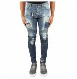 Boragio 5 pocket jeans blauw
