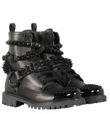 Philipp Plein Boots low flat studs zwart