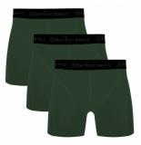 Bamboo Basics 3pack heren boxershorts army