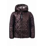 Looxs Revolution Reversible jas voor meisjes in de kleur bruin