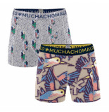 Muchachomalo Boys 2-pack short free like a bird