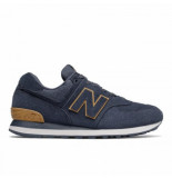 New Balance Men ml574 navy fw19 blauw