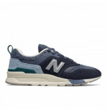 New Balance Men cm997 navy light blue blauw