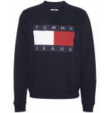 Tommy Hilfiger Sweatshirt dw0dw07414cbk blauw