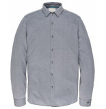 Cast Iron Overhemd csi197604 blauw