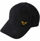 PME Legend Cap corduroy black onyx grijs