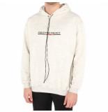 REPRESENT Stretch logo hoodie wit