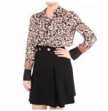 Elisabetta Franchi Moves Women's blouse zwart