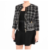 Elisabetta Franchi Moves Jacket zwart
