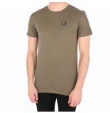 Philipp Plein Statement black cut t-shirt round neck groen