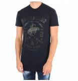 Dsquared2 T-shirt blauw