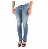 Philipp Plein Angel morgan fit jeans blauw
