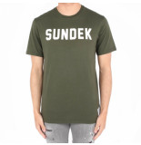 Sundek Writing t-shirt