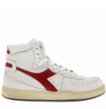 Diadora Sneakers mi basket -rood wit