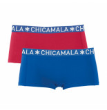 Muchachomalo Women 2--pack boxershort solid