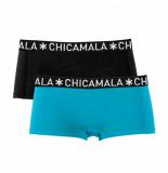 Muchachomalo Girls 2-pack boxershort solid