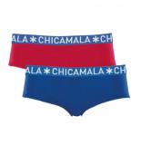 Muchachomalo Women 2-pack brief solid