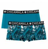 Muchachomalo Girls 2-pack boxershort roots