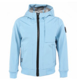 Airforce Softshell jacket chest blauw