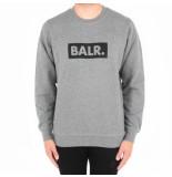 BALR. Brand cub crew neck sweater grijs