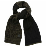 PME Legend Scarf heavy knit cotton mix rosin groen