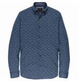 Vanguard Sleeve shirt cf print vsi197400/5331 blauw