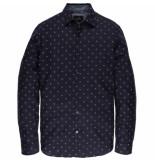 Vanguard Sleeve shirt print vsi197402/5287 bordeaux