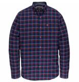 Vanguard Sleeve shirt check vsi197430/5331 blauw