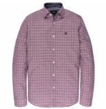 Vanguard Sleeve shirt check vsi197401/3246 bordeaux