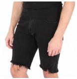 REPRESENT Denim shorts zwart