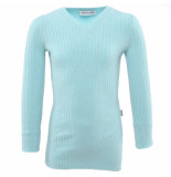 Reinders Twin set sweater lurex blauw