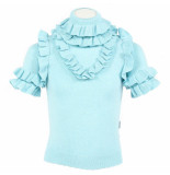 Reinders Monique ruffle lurex blauw