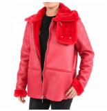 Reinders Lammy coat rood