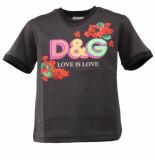 Dolce and Gabbana Kids T-shirt manica corta zwart