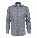 A Fish Named Fred Shirt blauw