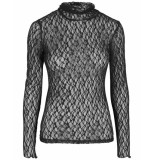 Y.A.S T-shirt 26016695 yasfloris zwart