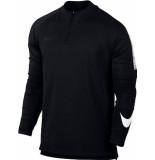 Nike M nk dry sqd dril top 859197-010 zwart