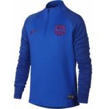 Nike Fcb youth nk dry strke dril top aq0855-402 blauw