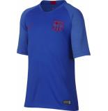 Nike Fcb youth nk brt strk top ss ao6441-402 blauw