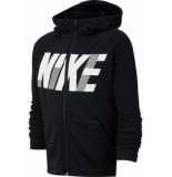 Nike B nk dry gfx fz hoodie bv3789-010 zwart