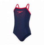 Speedo Gala logo thinstr muscleb nav/red 11343-d230