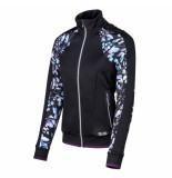 Sjeng Sports Ss lady fullzip top sherly sherly-b001 zwart